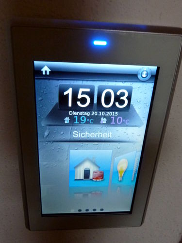 "GVS K50 KNX/EIB-Colour-Touchpanel 5"", silber, CHTF-05/01.1.02D"